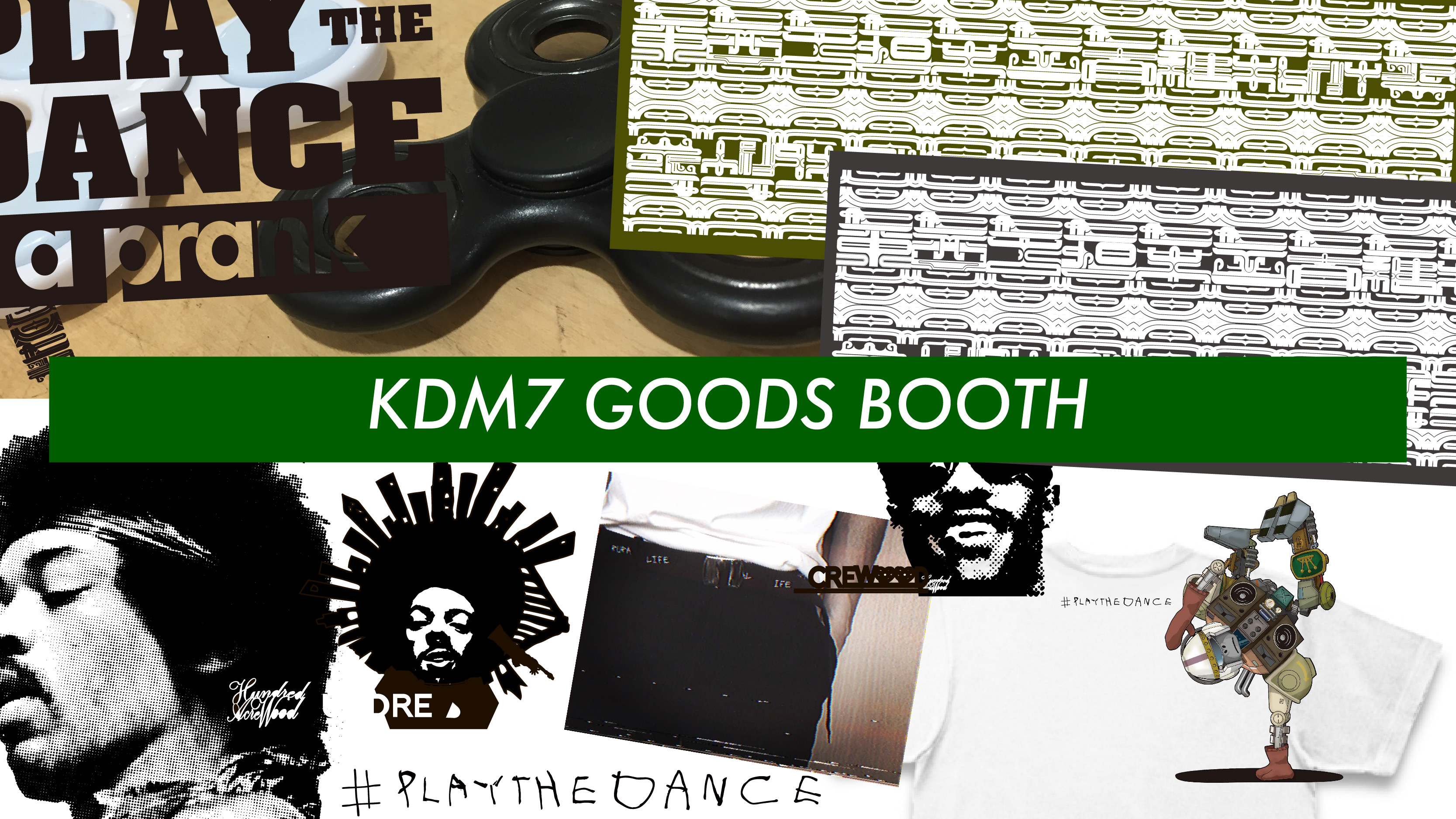 KDM7 GOODS BOOTH