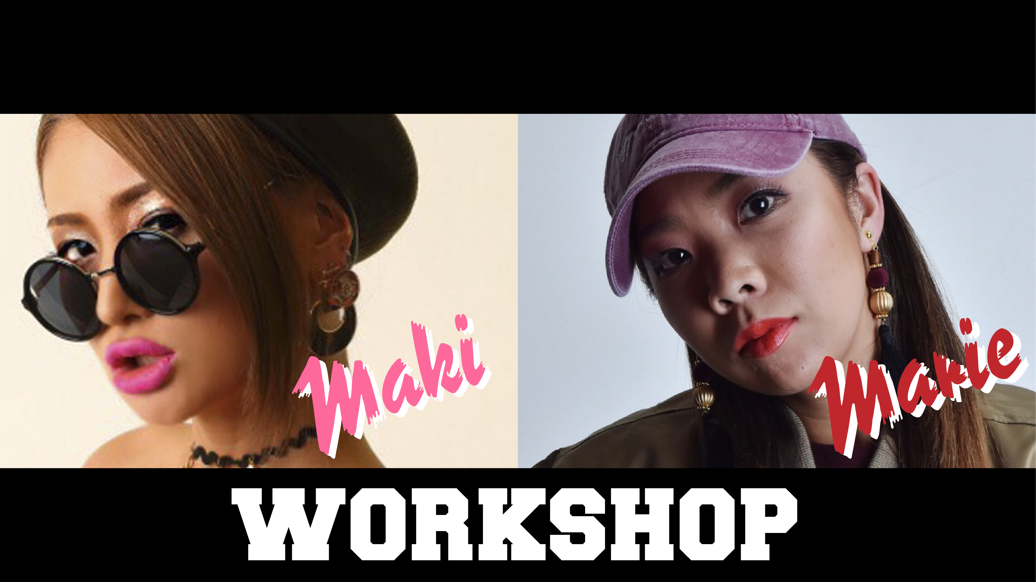 MARIE&MAKI SPECIAL COLLABORATION WORKSHOP
