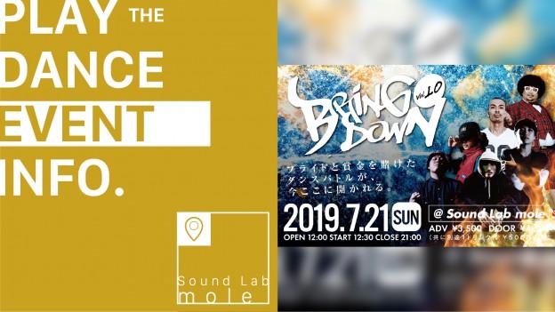 【Bring Down. vol.10】〜ANNIVERSARY〜