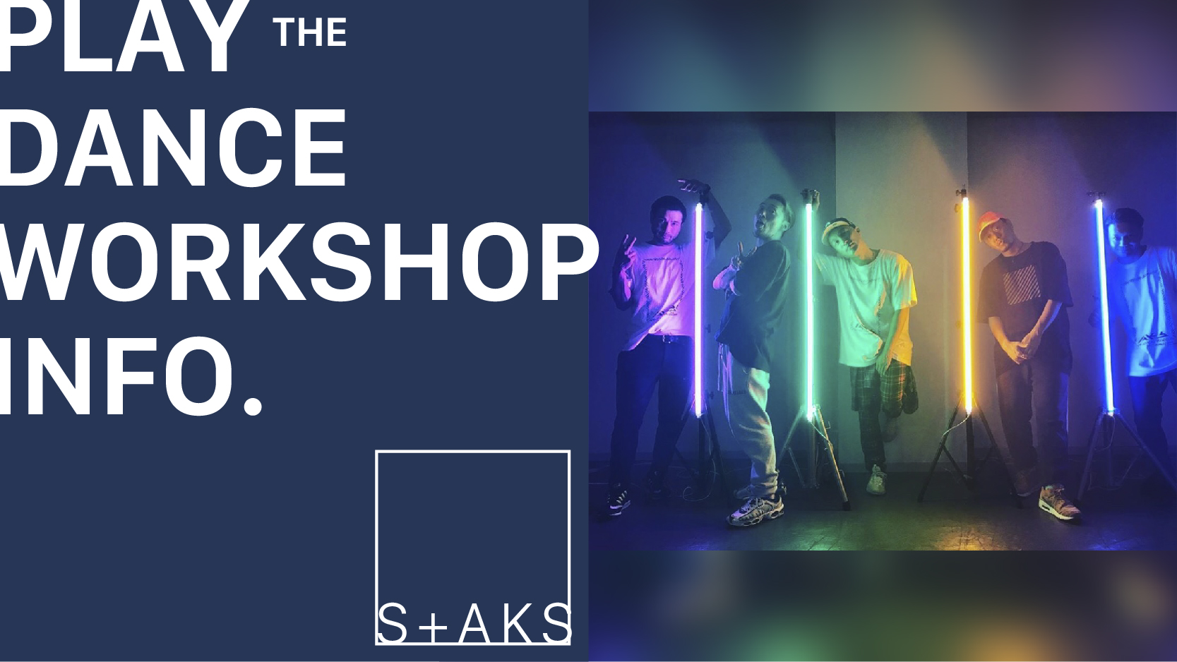 S+AKS WORKSHOP TOUR2019 札幌会場